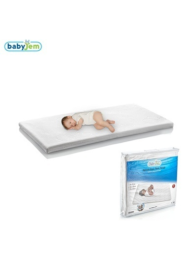 Baby Jem Babyjem Pamuk Oyun Parkı Yatağı  60X120  Beyaz